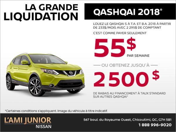 Le Nissan Qashqai 2018!