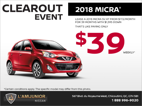 2018 Nissan Micra!