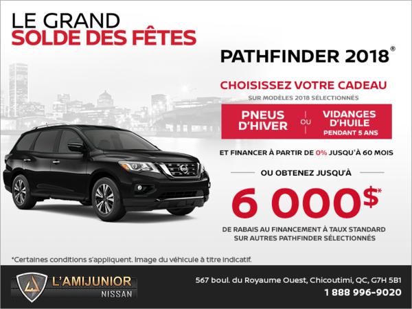 Le Nissan Pathfinder 2018!