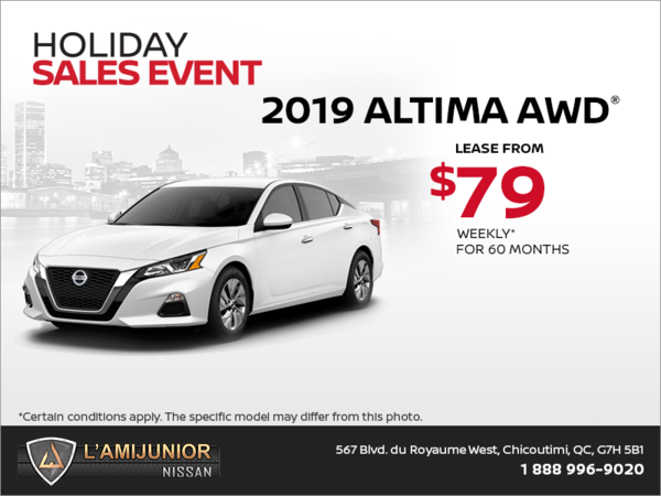 Get the 2019 Altima today!