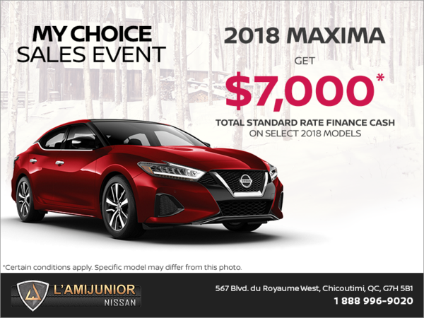 Get the 2018 Maxima today!