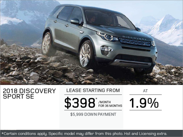 The 2018 Discovery Sport