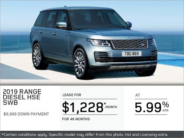 The 2019 Range Rover HSE Diesel