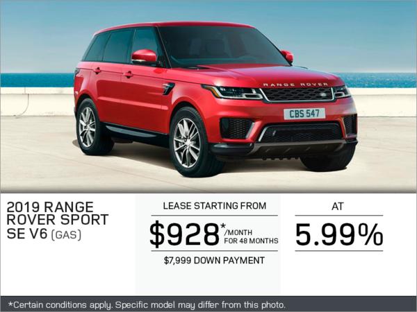 The 2019 Range Rover Sport
