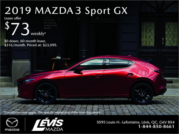 Get the 2019 Mazda3 Sport!