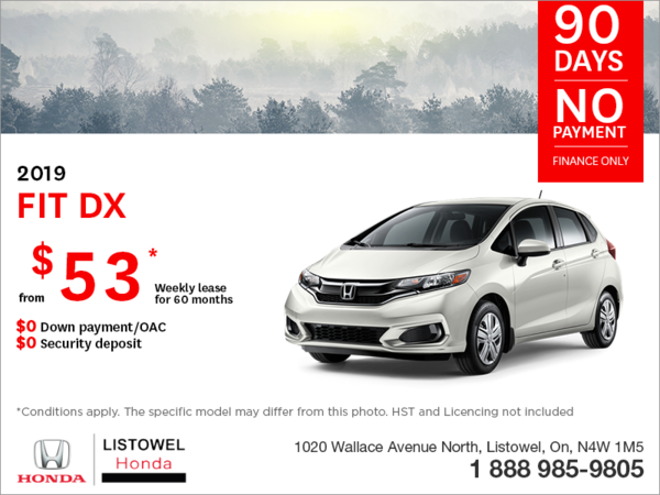 Lease the 2019 Honda Fit!