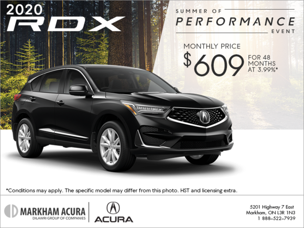 Mdx Cash Back >> Markham Acura Special Offers