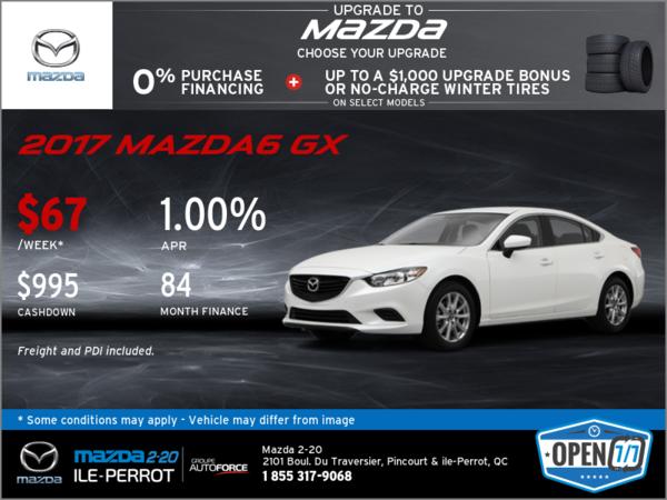 2017 Mazda6 GX - Get it Today!