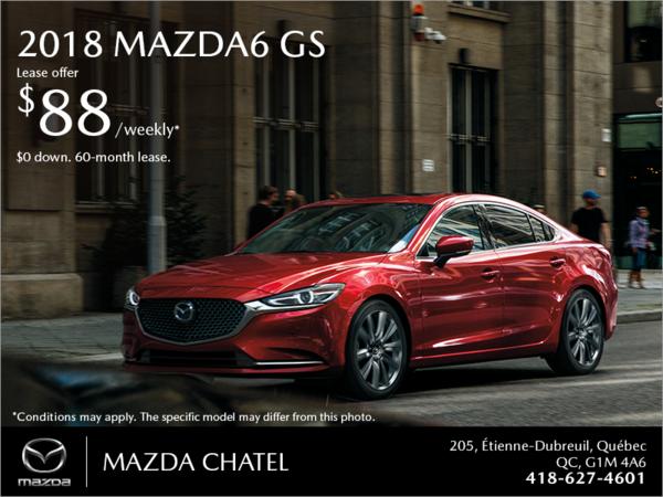 Get the 2018 Mazda6!