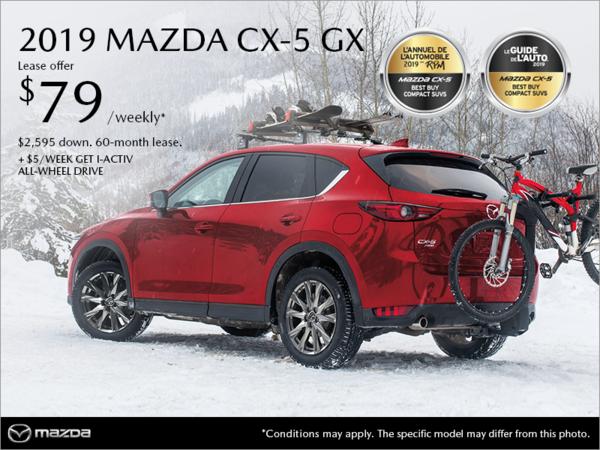 Mazda Joliette - Get the 2019 Mazda CX-5!