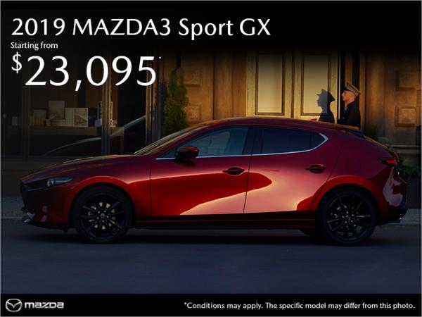 Duval Mazda - Get the 2019 Mazda3 Sport!