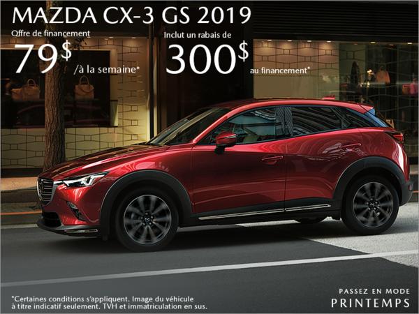 401 Dixie Mazda - Procurez-vous la Mazda CX-3 2019 aujourd'hui!