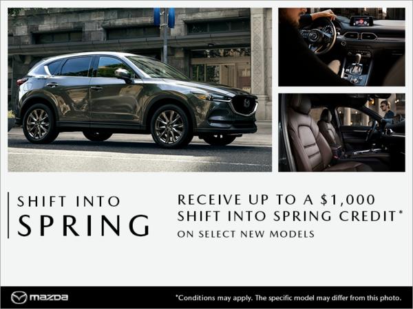 Forman Mazda - Shift into Spring