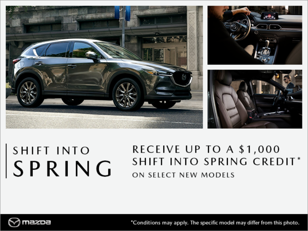 VIP Mazda - Shift into Spring