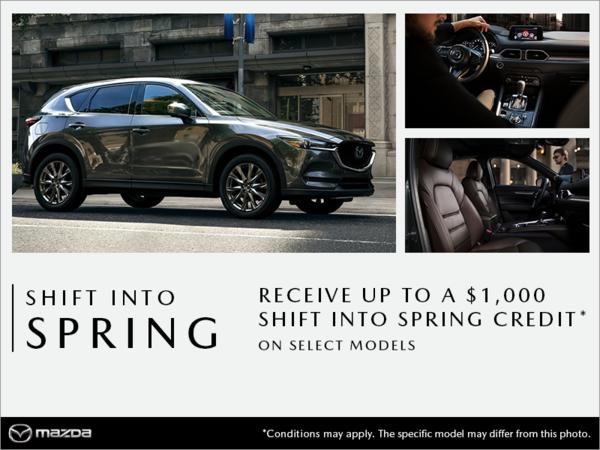 Mazda Saint-Jérôme - Shift into Spring