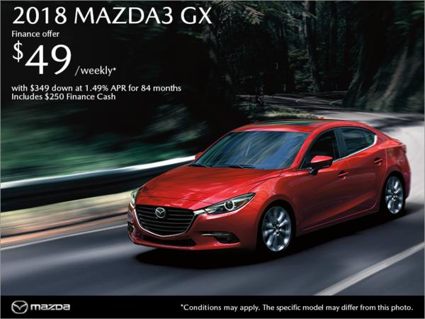 Atlantic Mazda - Get the 2018 Mazda3 Today!