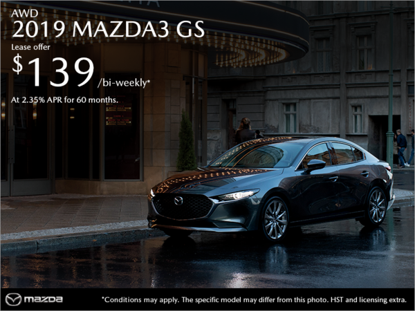 St. Catharines Mazda - Get the 2019 Mazda3 Today!