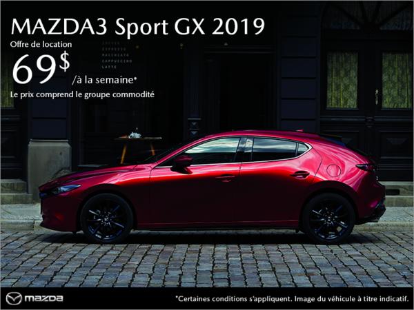 Mazda3 Sport neuf en promotion à Montréal