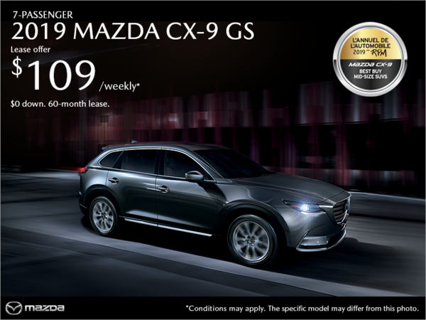 Mazda Pointe-aux-Trembles - Get the 2019 Mazda CX-9!