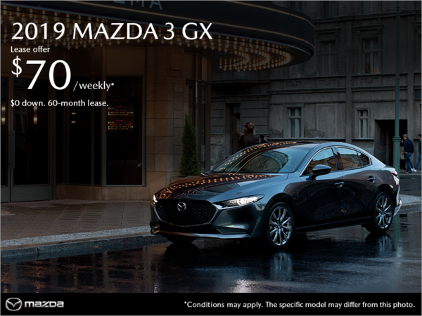 Mazda Pointe-aux-Trembles - Get the 2019 Mazda3!