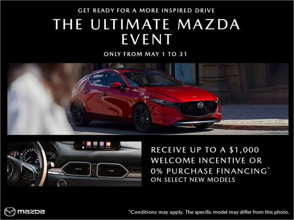 Mazda Gabriel St-Laurent - The Ultimate Mazda event