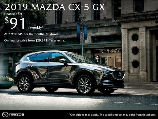Gerry Gordon's Mazda - Get the 2019 Mazda CX-5 today!