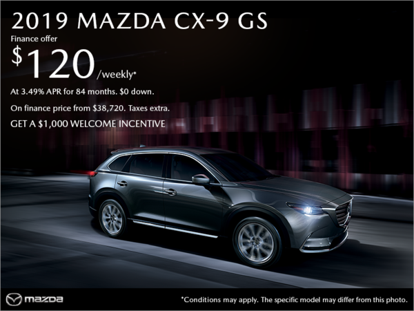Coastline Mazda - Get the 2019 Mazda CX-9 today!