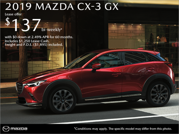 Atlantic Mazda - Get the 2019 Mazda CX-3 Today!