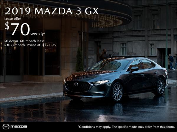 Mazda Joliette - Get the 2019 Mazda3!