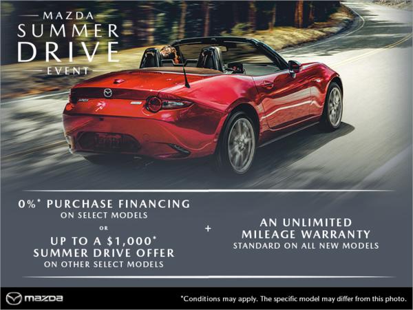 Gerry Gordon's Mazda - The Mazda Summer Drive Event