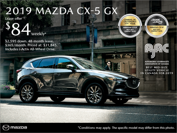 Mazda Drummondville - Get the 2019 Mazda CX-5!