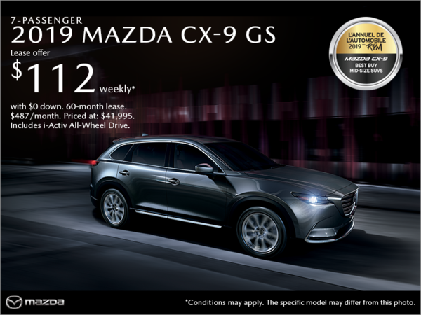 Mazda Drummondville - Get the 2019 Mazda CX-9!