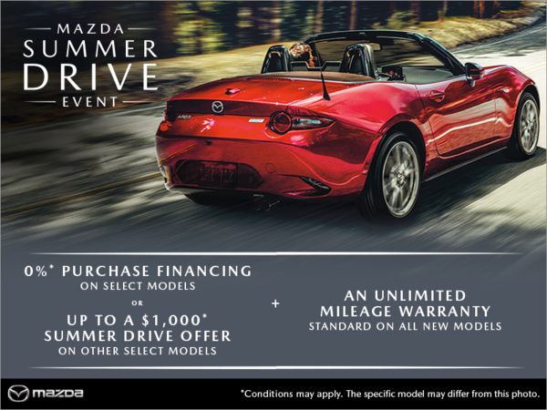 Mazda Drummondville - The Mazda Summer Drive Event