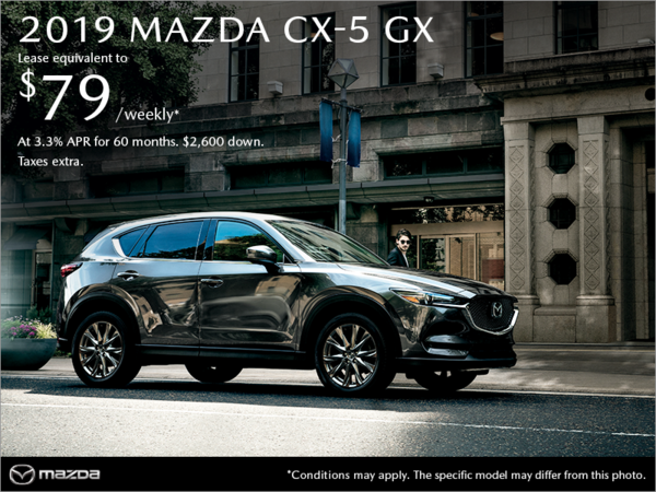 Coastline Mazda - Get the 2019 Mazda CX-5 today!
