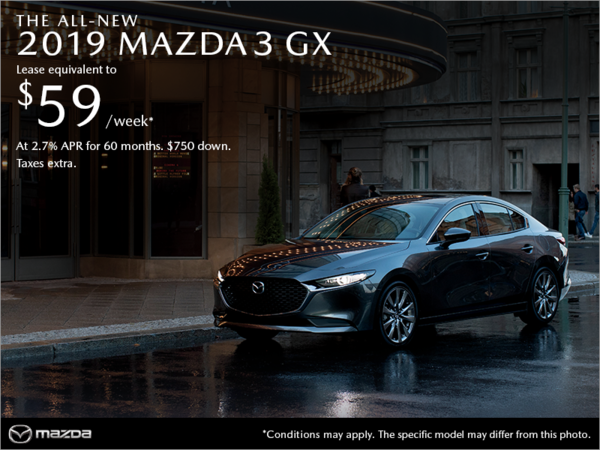 Coastline Mazda - Get the 2019 Mazda3 today!