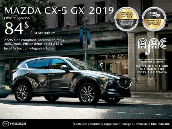 Duval Mazda - Procurez-vous le Mazda CX-5 2019!