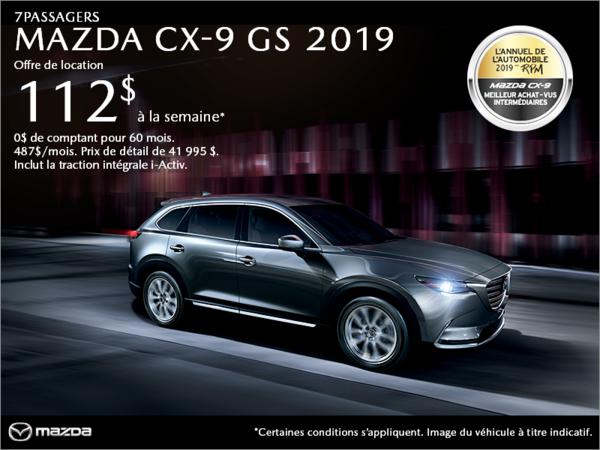 Duval Mazda - Procurez-vous le Mazda CX-9 2019!