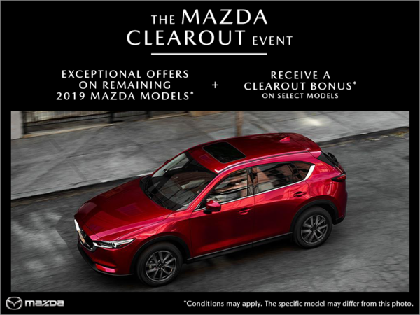 Coastline Mazda - The Mazda Clearout Event
