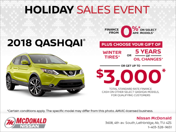Get the 2018 Nissan Qashqai today!