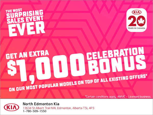 The Kia 20 years in Canada Event!