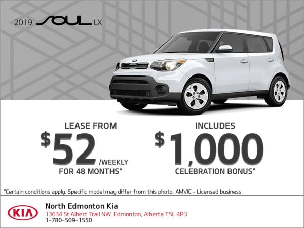 Get the 2019 Kia Soul!