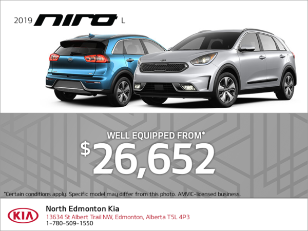 Get the 2019 Kia Niro!