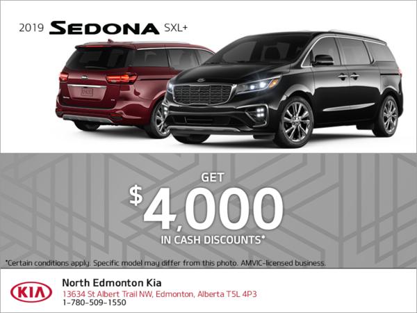 Get the 2019 Kia Sedona