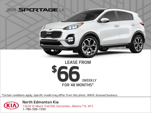 Get the 2020 Kia Sportage!