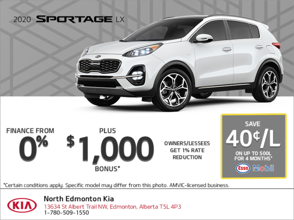 Finance the 2020 Kia Sportage!