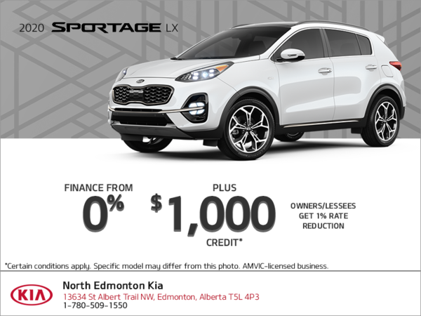 Finance the 2020 Kia Sportage!