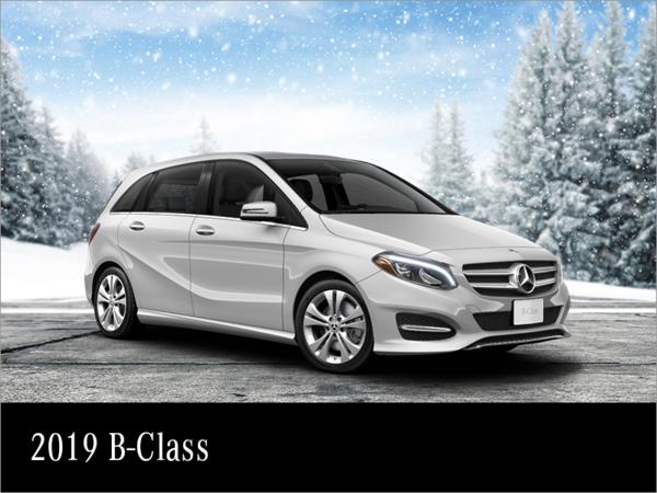Lease the 2019 Mercedes-Benz B-class