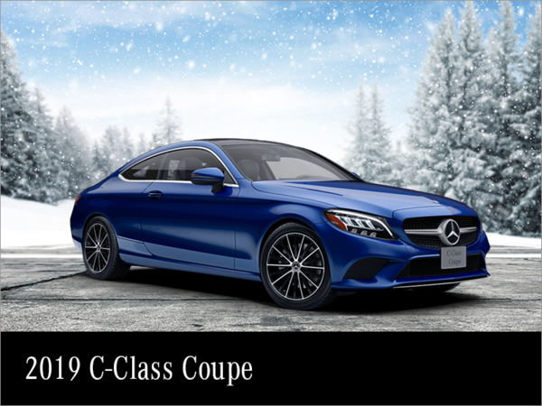 Lease the 2019 Mercedes-Benz C-class Coupe