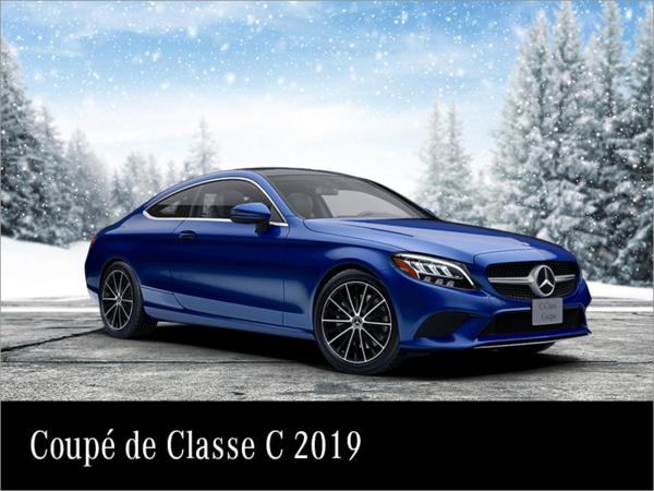 Louez la Mercedes-Benz Classe C Coupé 2019