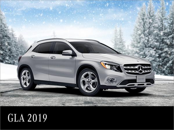 Louez la Mercedes-Benz GLA 2019